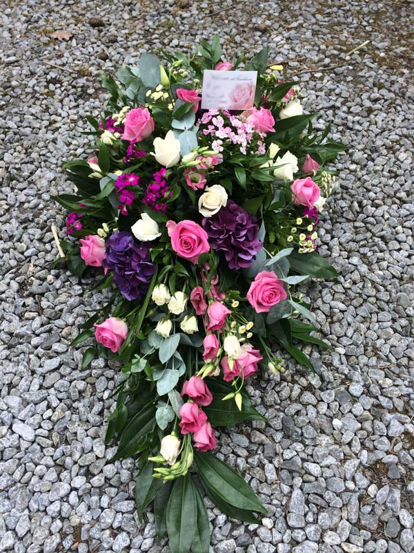 Sympathy Flowers by Coachhouse Flowers, Perthshire.
